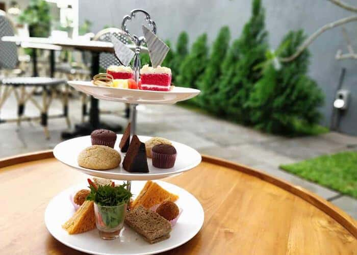 High Tea at The Fortyard Cafe and Restaurant