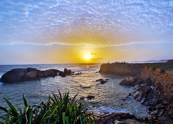 Sunset in Galle Fort