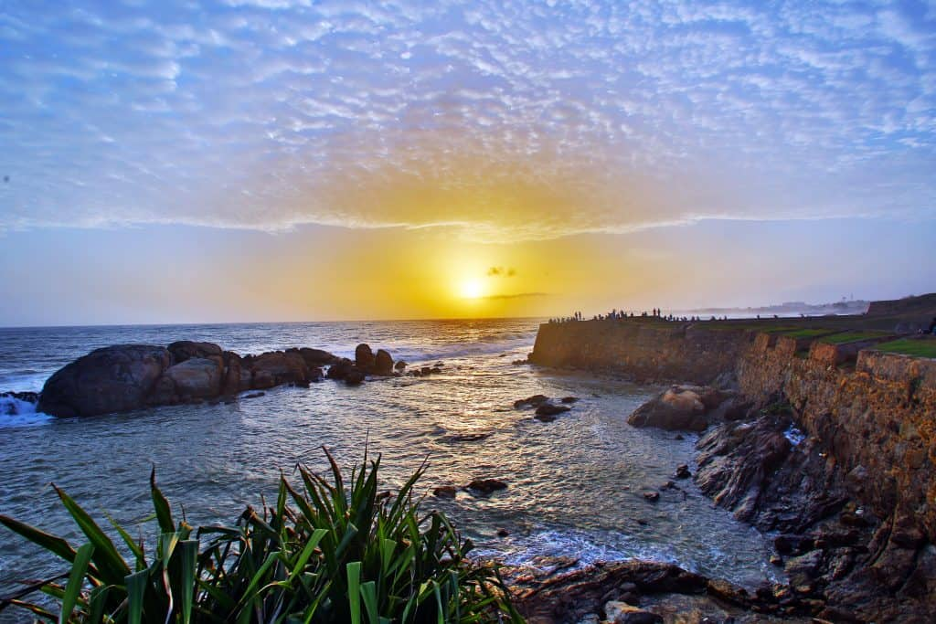 Sunset from Galle Fort